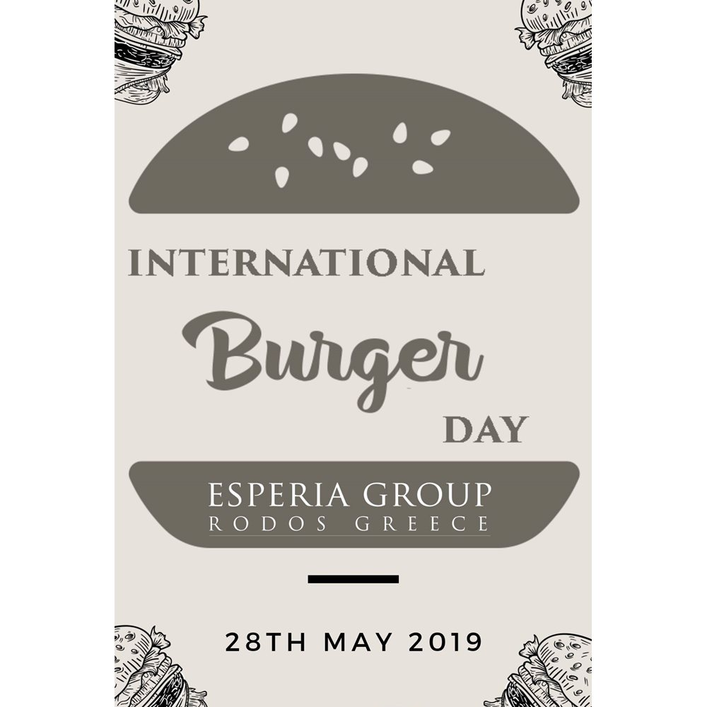 Burger Day - Happy Day!