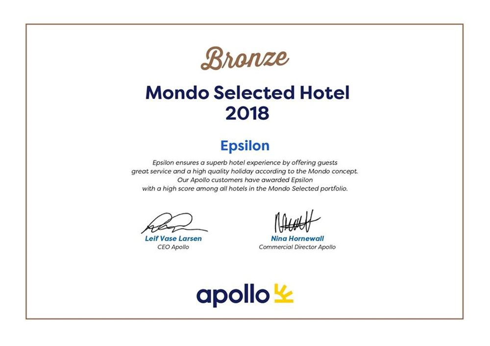 Customers Choice Award From Apollo Sverige !