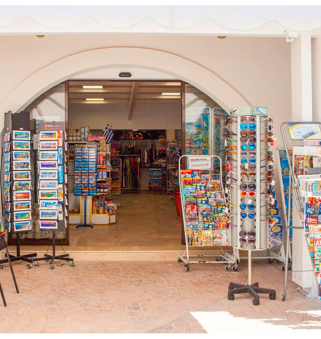 Mini market / souvenir shop