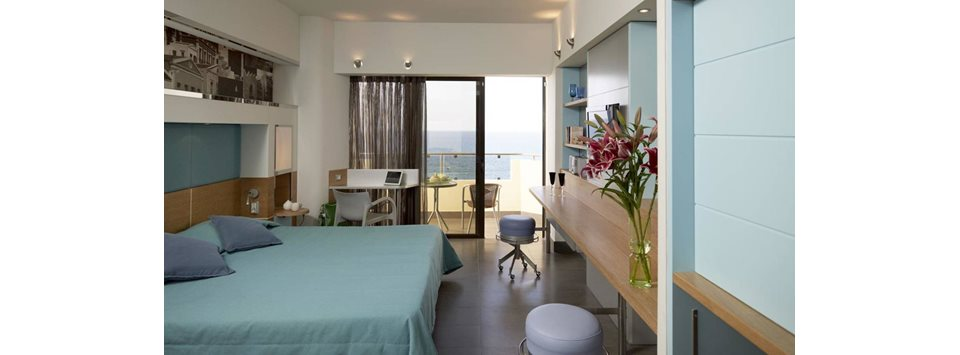 Comfort Rooms with sea view